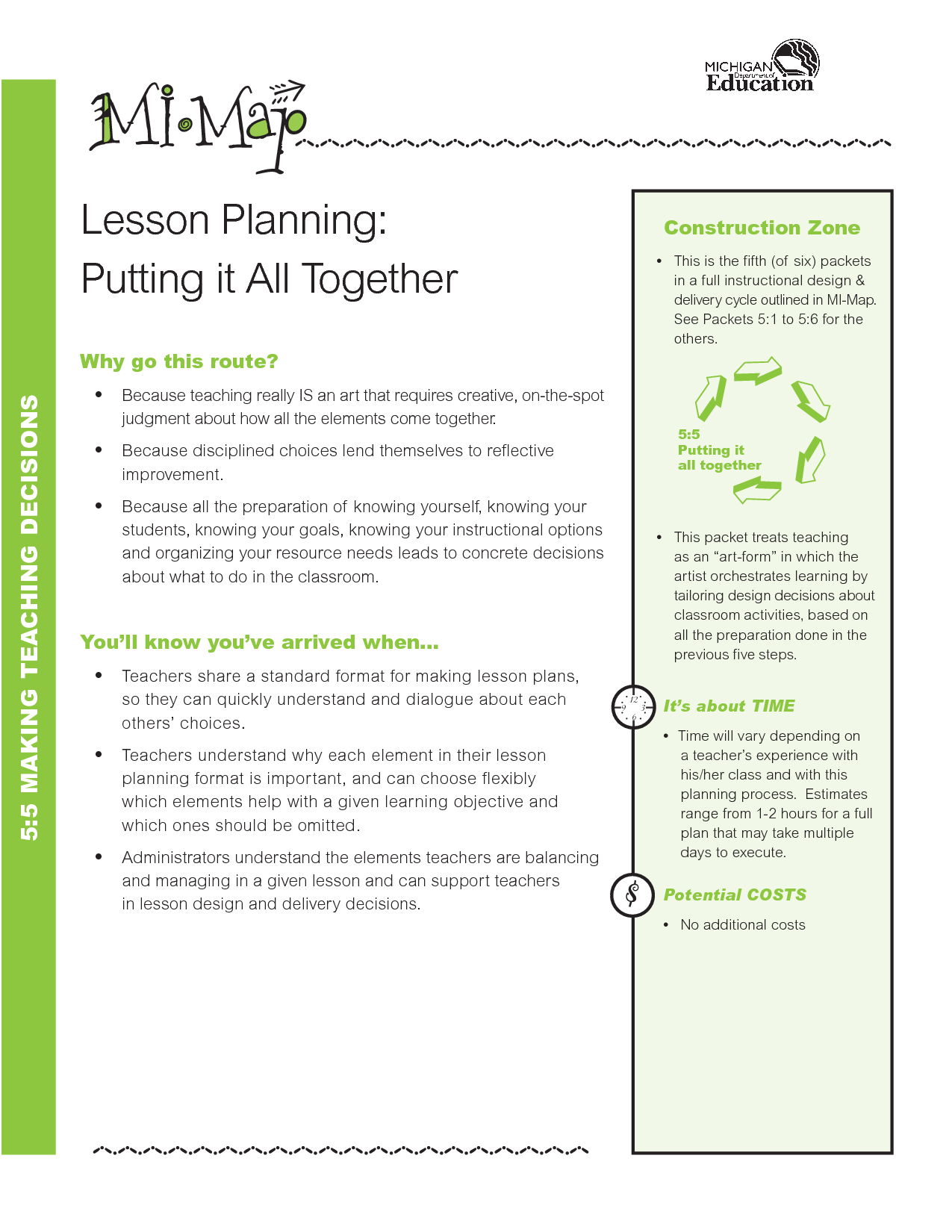 Printable Lesson Plan Template FREE To Download - Sample common core lesson plan template