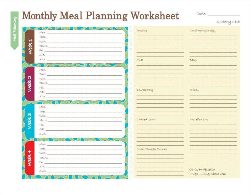 Printable Lesson Plan Template FREE To Download - Monthly lesson plan template