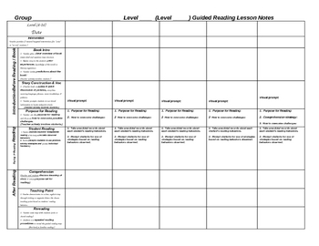 Weekly Lesson Plan Template And Teacher Resources - Free weekly lesson plan template