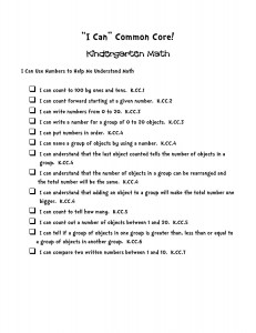 i can common core statements kindergarten math-page-001