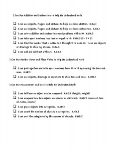 i can common core statements kindergarten math-page-002i can common core statements kindergarten math-page-002